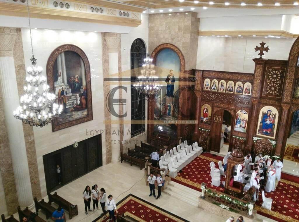 St Peter Amp St Paul Coptic Orthodox Church Doha Qatar Egyptian Marble Company I Built To Build